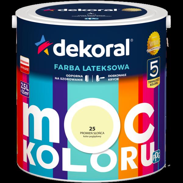 Dekoral Moc Koloru/Akrylit W