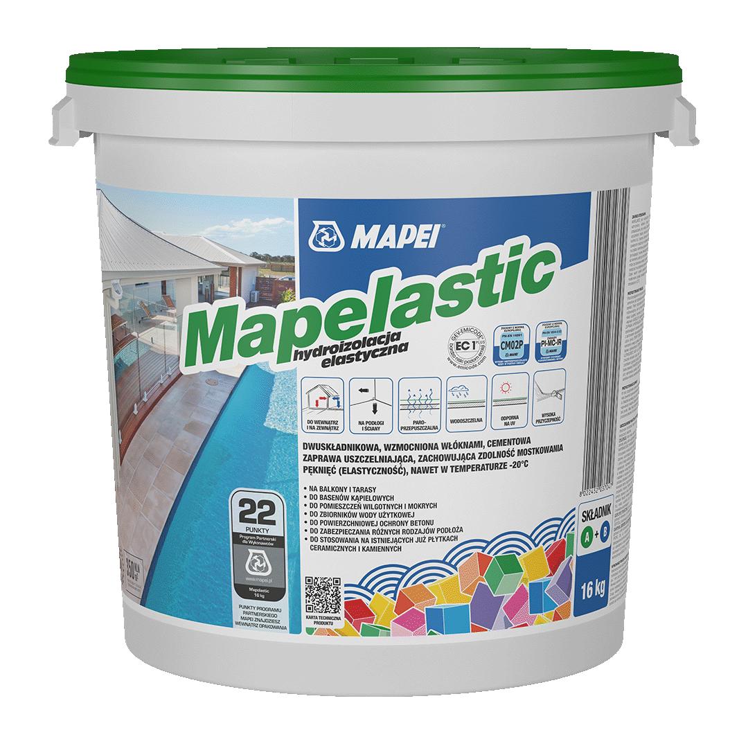Mapei hydroizolacja Mapelastic